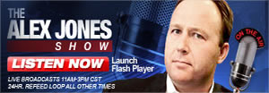 Click Here And Listen To Alex Jones Live Now!